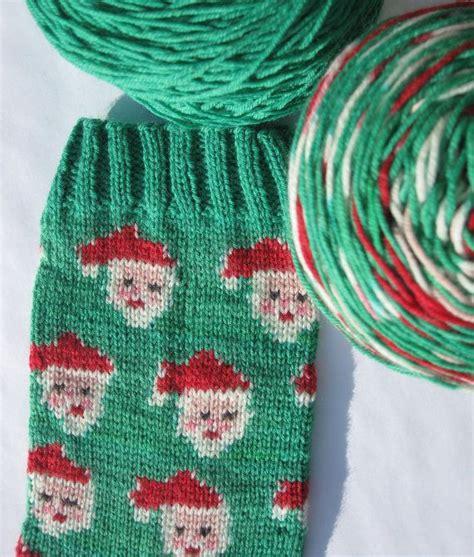 self pattern sock yarn pre order hand painted self patterning christmas sock