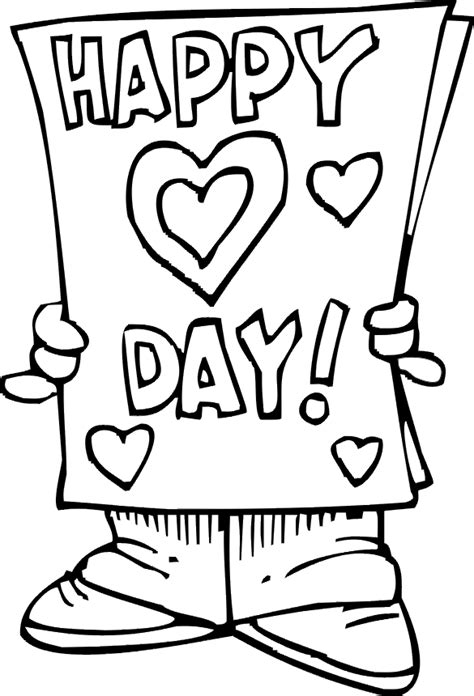 valentine printable coloring pages valentines day printables
