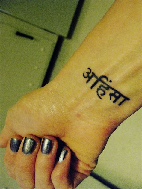 small sanskrit tattoos best 25 ahimsa ideas on sanskrit