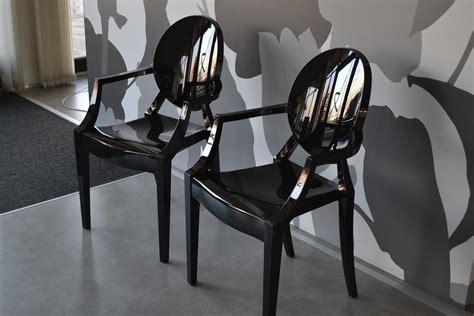 sedia kartell louis ghost kartell 2 sedie louis ghost nero sedie a prezzi scontati