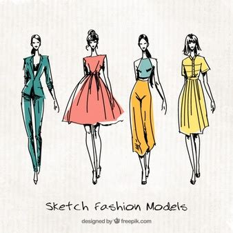 fashion illustration resources fashion model vectors photos and psd files free