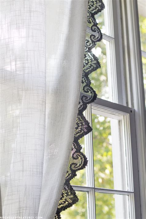 Diy Lace Curtains Mountainmodernlife Com