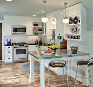 small kitchens set up small rooms set the creativity to