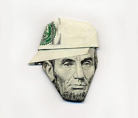 Origami Paper Money - money portraits