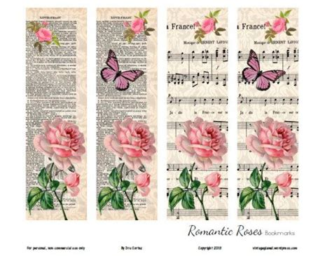 printable victorian bookmarks 122 best images about bookmarks printable diy on