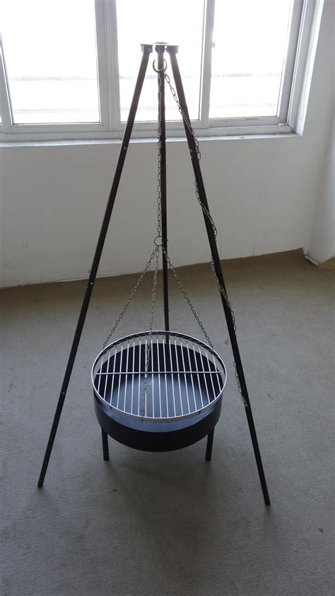 hanging tripod pit hanging barbecue grill outdoor pit new design brazier