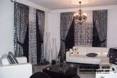 black and white living room curtains home exterior designs curtains catalog designs styles