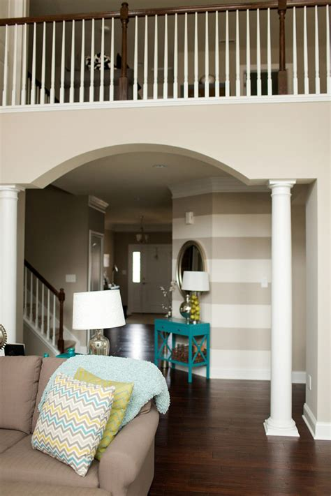 color palette with grey brown paint color sherwin williams amazing gray stripe wall