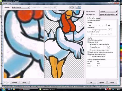 corel draw x4 como usar video aula corel draw x4 como converter uma imagem em