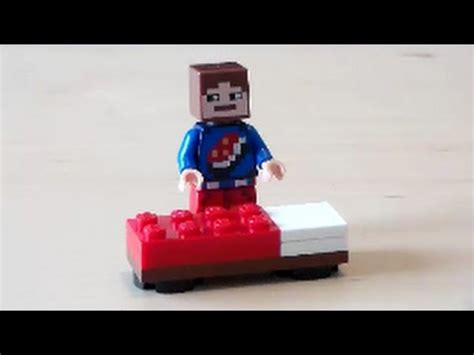 tutorial lego bed lego minecraft bed tutorial youtube