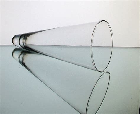 Amazon Candle Sconces Hanging Cone Wall Vase Vessel Clear 9 X 3 75 Clear Oos