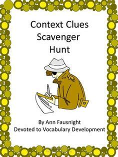 picture books to teach context clues context clues context clues books and activities
