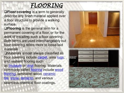 Which Describes The Composition Of The Floor by Flooring And Its Types