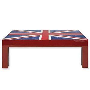table basse londres table drapeau anglais londres deco londres