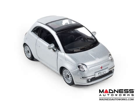 Diecast Unicar Fiat 500 fiat 500 diecast model 1 28 scale silver kinsmart fiat 500 parts and accessories