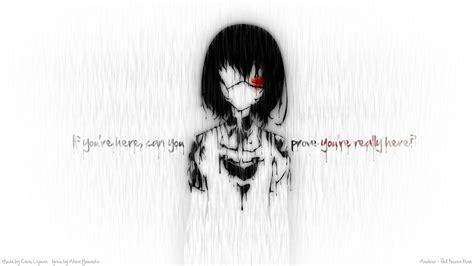 anime girl creepy wallpaper creepy anime wallpaper 58 images