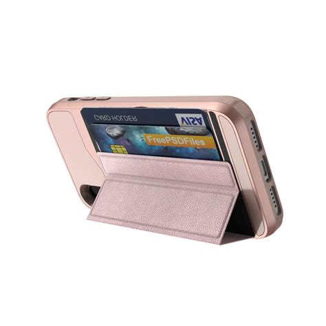 Credit Card Iphone Stand Template by Credit Card Holder Wallet Shockproof Leather Stand