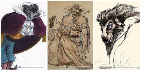 Mao Drawing Board Princess early concept artworks and sketches of disney characters