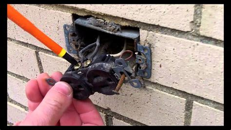 gfci outdoor electrical outlet installation part 1