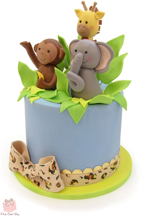 Baby Shower Cakes Safari Theme by Jungle Cake Topper For Safari Themed Baby Shower