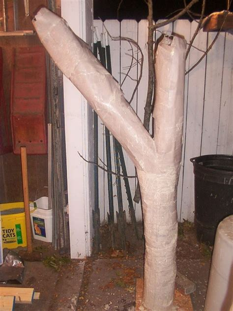 diy in props diy trees great for hanging zombies and ghouls from