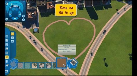 tutorial cities xl 2011 cities xl 2011 heart shaped square building tutorial