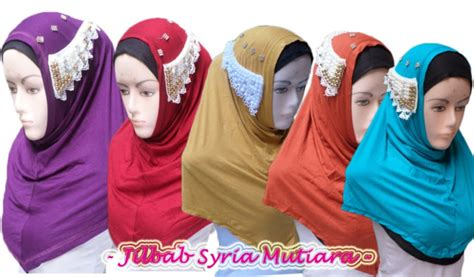 Jilbab Kerut Mutiara by Pin Model Payet Jilbab Kerudung Cantik Murah Kamistad
