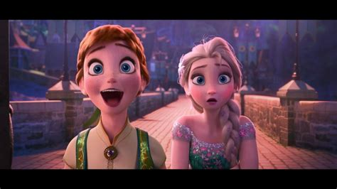 film frozen vever exclusive first look at disney s frozen fever video