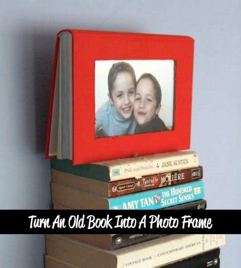 turn pictures into a book how to turn an book into a photo frame