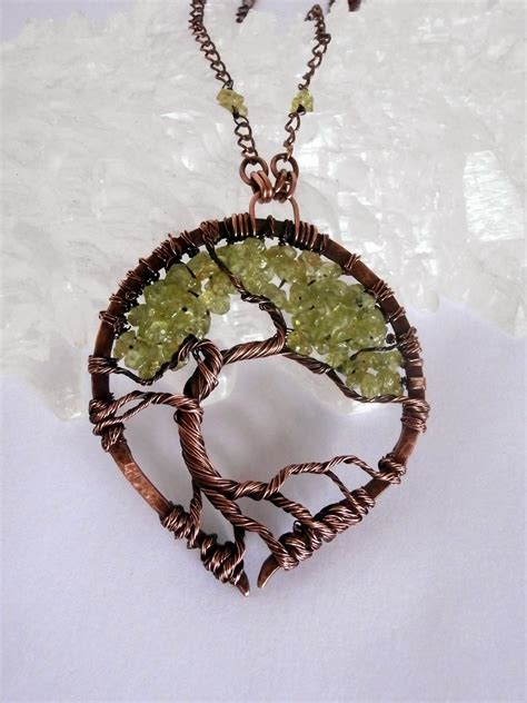 how to make tree of jewelry perfectly twisted handmade wire wrapped beaded and