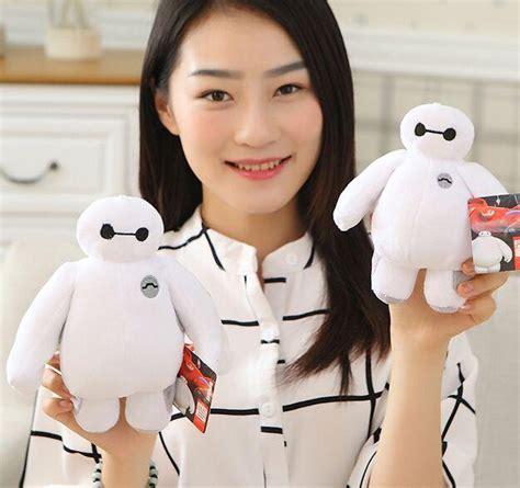 Sale Nano Dolls 6605b Semprem 18cm big 6 baymax plush robot 18cm wholesale retail bighero6 stuffed plush white