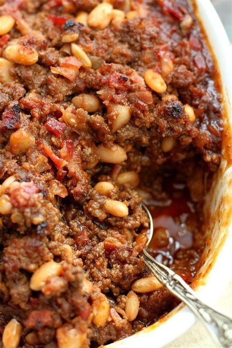baked bean casserole baked beans and bean casserole on