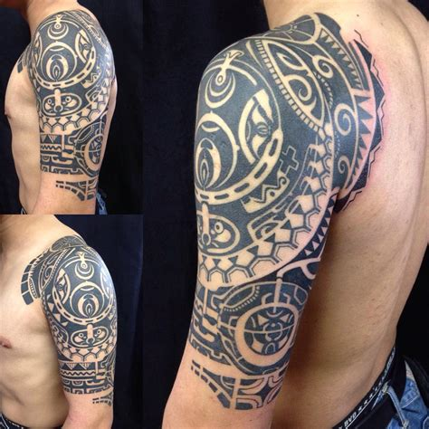 full hand tribal tattoo 24 tribal shoulder designs ideas design trends