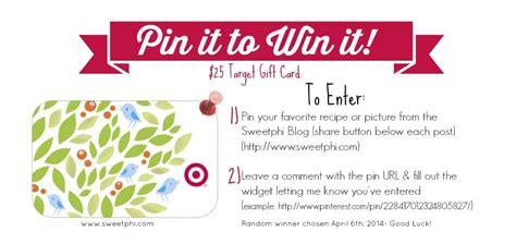 Target Gift Card Pin - pin it to win it