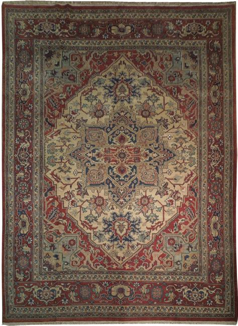 10x14 Area Rugs 10x14 New Heriz Serapi Area Rug Knotted Ebay
