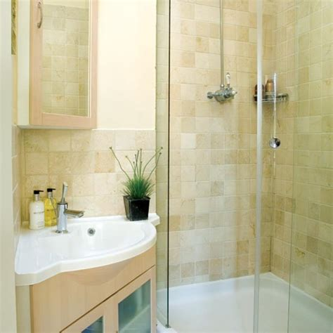 Small Ensuite Bathroom Ideas Pretty And En Suite Shower Room Housetohome Co Uk