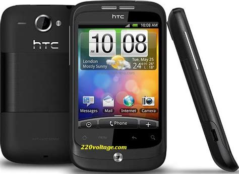 Hp Htc Wildfire A3333 Htc Wildfire A3333 Android Unlocked Phone