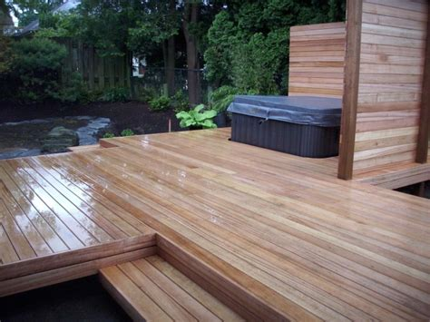 mahogany decking mahogany deck estate buildings information portal