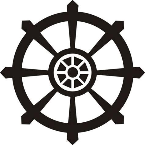 Beautiful Wall Clocks by Small Dharma Wheel Wall Decal Sticker Buddha Brahman Hindu