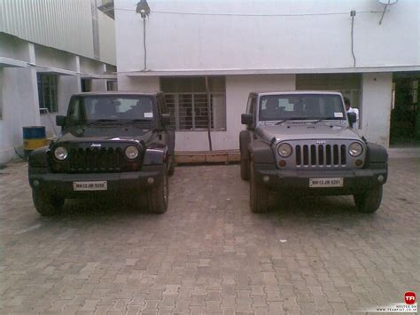 jeep india jeep wrangler and grand cherokee spotted in chennai