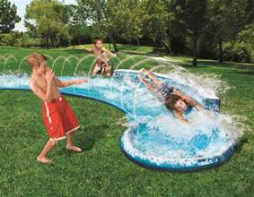 Backyard Water Slides by Awesome Backyard Water Slide Outdoor Furniture Design
