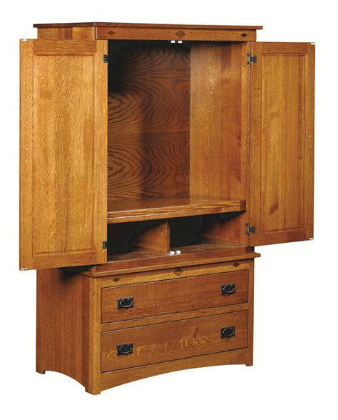 Yutzy Urban Collection Prairie Home Mission Two Piece Prairie Mission Armoire On