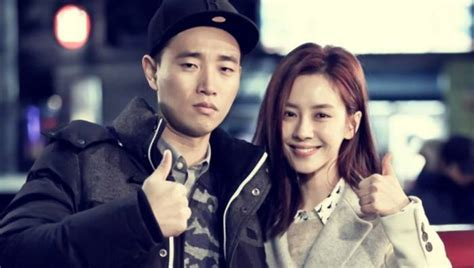 monday couple poses endearingly at running man after party monday couple poses endearingly at running man after party