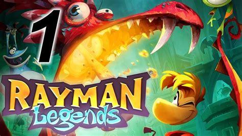 prokhozhdenie rayman legends kooperativ  youtube