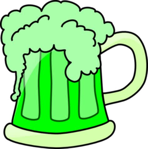 beer cartoon transparent green beer clipart clipartix
