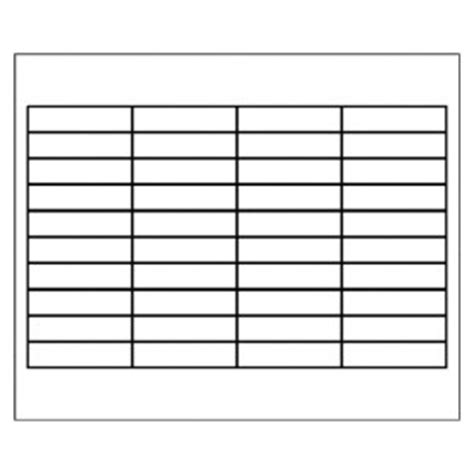 avery 11136 tab inserts template