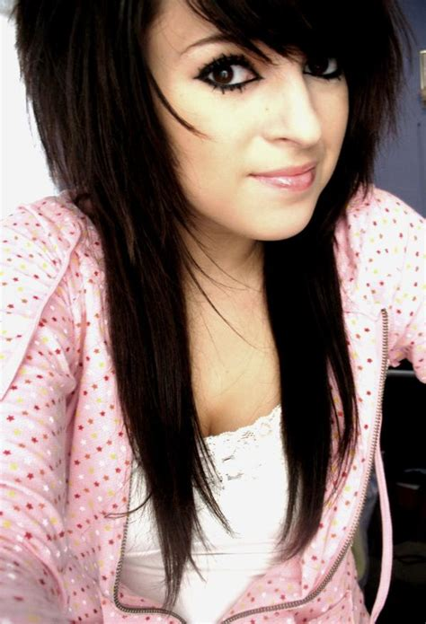emo hairstyles for long hair girls emolutions girls emo hairstyle long hair pictures