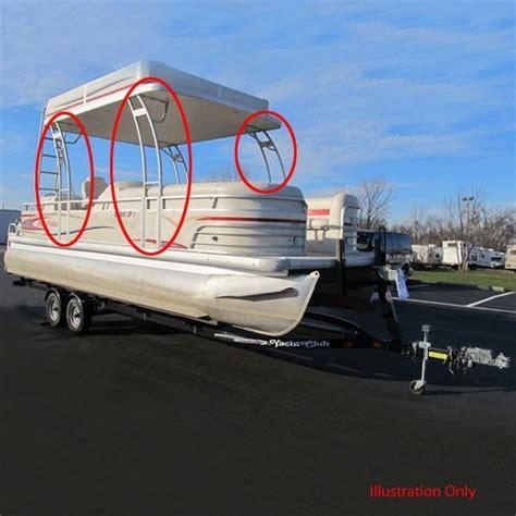 pontoon hardtop kit avalon custom aluminum adjustable pontoon boat hardtop