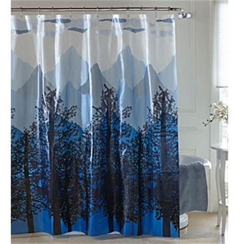 Mountain Shower Curtain by Upc 034299110447 Excell Mountain Peva Shower