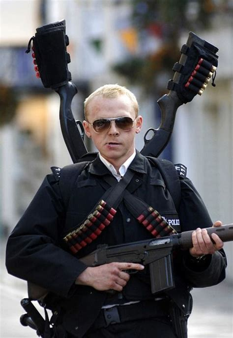 funny movies like hot fuzz simon pegg in hot fuzz hes hot in his cop uniform and